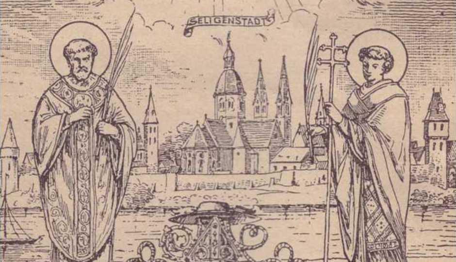 Petrus und Marcellinus, Seligenstadt, Einhardsbasilika